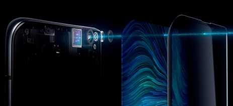 Oppo apresenta o primeiro smartphone com a câmera frontal sob o display na MWC19 Xangai