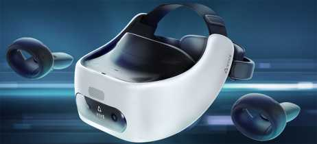 Headset de VR standalone HTC Vive Focus Plus é anunciado com controles de movimento