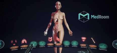 MedRoom utiliza realidade virtual para treinar estudantes de medicina