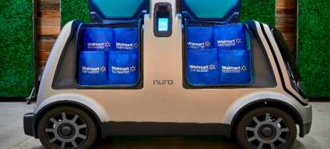 Walmart vai começar a fazer entregas com veículo autônomo, o Nuro R2, em 2020