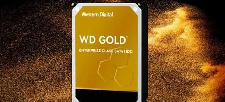 WD anuncia novo modelo HDD SATA WD Gold de 18 TB