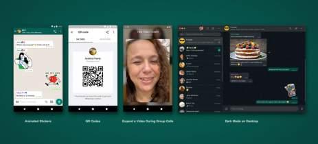WhatsApp vai ganhar modo escuro no desktop e stickers animados no mobile
