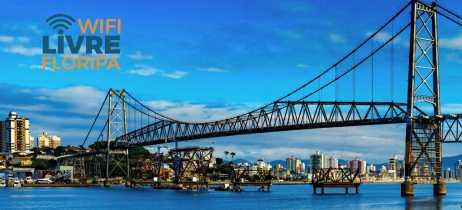 Florianópolis terá Wi-Fi gratuito em 178 áreas públicas