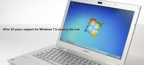 Microsoft começa a notificar usuários sobre fim do suporte para Windows 7