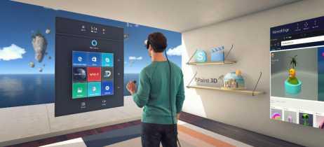 Nova versão de testes do Windows 10 permite usar aplicativos em 3D na realidade virtual