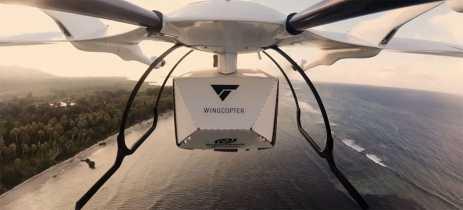 Veja vídeo de drone fazendo entregas de medicação entre ilhas