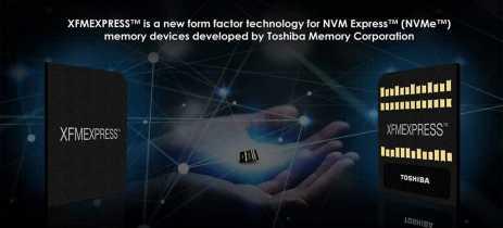 Toshiba anuncia padrão XFMExpress de memória não-volátil com soquete