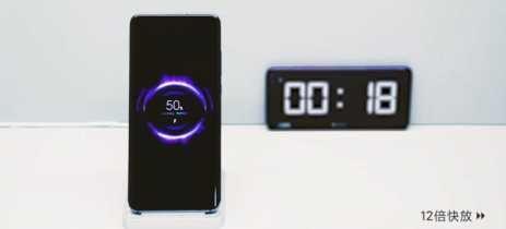 Xiaomi faz demonstração de seu carregamento sem fio rápido de 40W