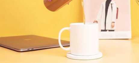 Xiaomi lança aquecedor de xícaras que também é carregador wireless