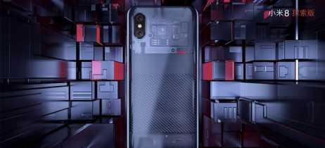 Xiaomi anuncia o Mi 8 com notch e versão com traseira transparente