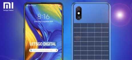 Xiaomi registra patente de smartphone com painel solar na traseira