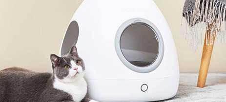 Xiaomi apresenta ninho para cães e gatos Moestar Spaceship Smart Pet Nest