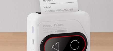 Xiaomi lança impressora de bolso Youdao Memobird G4