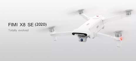 Drone FIMI X8 SE (2020) com otimizações e voos até 8Km está em pré-venda com desconto
