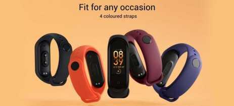 Xiaomi Mi Band 4 ganha versão global por cerca de U$32 (~R$130)