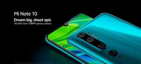 Xiaomi lança vídeos promocionais do Mi Note 10 destacando câmera e design