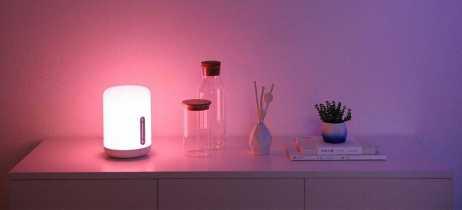 Xiaomi lança lâmpada de cabeceira inteligente Mijia Bedside Lamp 2