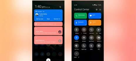 Xiaomi adiciona painel de controle na MIUI 12, semelhante ao iOS