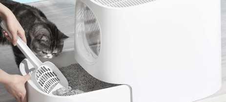 Xiaomi tem caixa de areia para gatos com sistema contra fortes odores