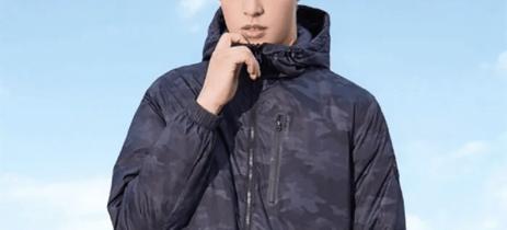 Xiaomi apresenta jaqueta que aquece e conta com carregador embutido