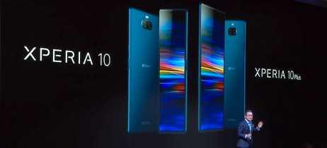 Conheça os novos smartphones da Sony: Xperia 1, Xperia 10, Xperia 10 Plus e Xperia L3
