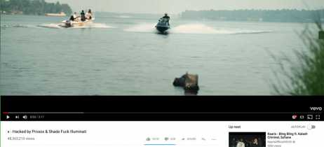 Hackers invadem contas do Youtube e alteram títulos de videoclipes