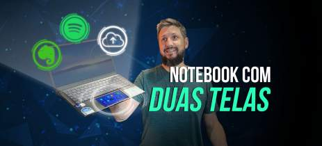 Testamos o ASUS ZenBook 14 UX435, notebook com DUAS TELAS e BELO DESIGN. Vale a pena?