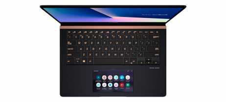 Linha de notebooks Asus Zenbook Pro traz tela touchscreen como touchpad