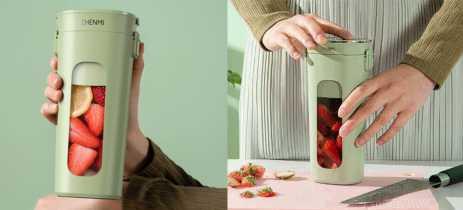 Xiaomi faz campanha de financiamento para Zhenmi Wireless Vacuum Juicer