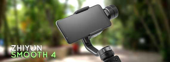 Análise: Zhiyun Smooth 4 - Não é o estabilizador ideal para smartphones, mas é quase