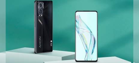 ZTE Axon 30 é novo smartphone da empresa com câmera sob a tela