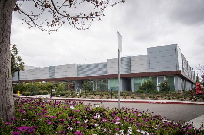 Suposta fábrica de telas da Apple, na Califórnia
