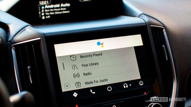 Atualização do Android Auto traz recursos de pré