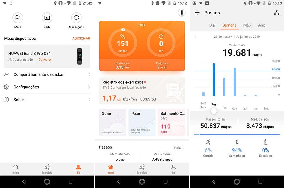 Análise: Honor Band 3 Pro é uma excelente smartband barata