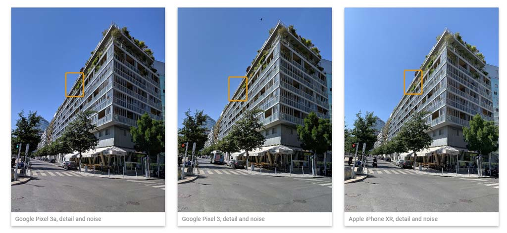 comparativo de fotos do dxomark com google pixel 3