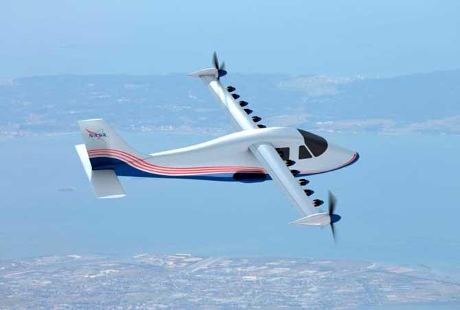 ناسا تعمل على الطائرات الكهربائية للرحلات التجارية 1