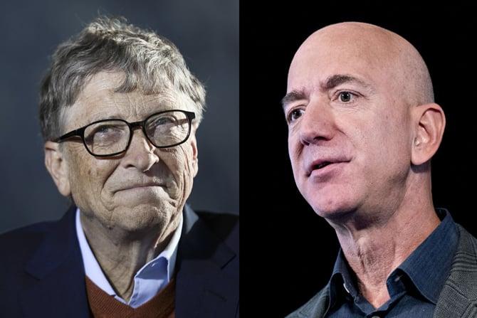 Bill Gates supera Jeff Bezos e volta a ser o homem mais rico do mundo
