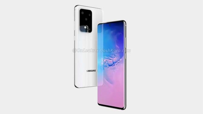 Imagens mostram que o Samsung Galaxy S11 Plus terá cinco câmeras na parte traseira