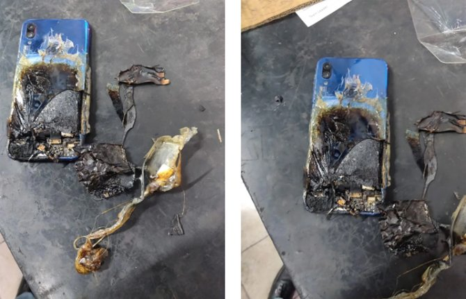 Chinês acorda com seu Xiaomi Redmi Note 7 Pro pegando fogo