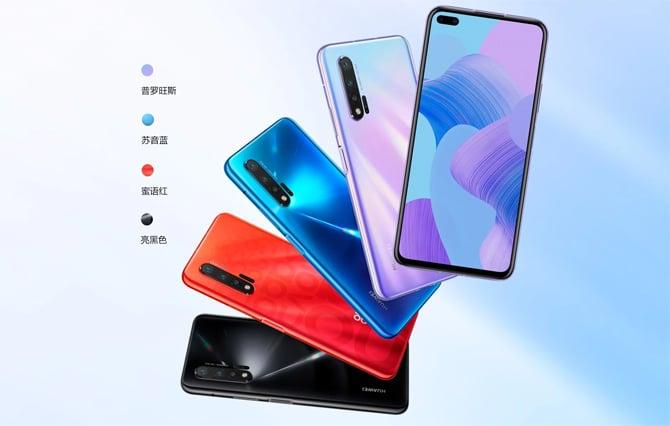 Huawei lança os smartphones Huawei Nova 6 e Nova 6 5G