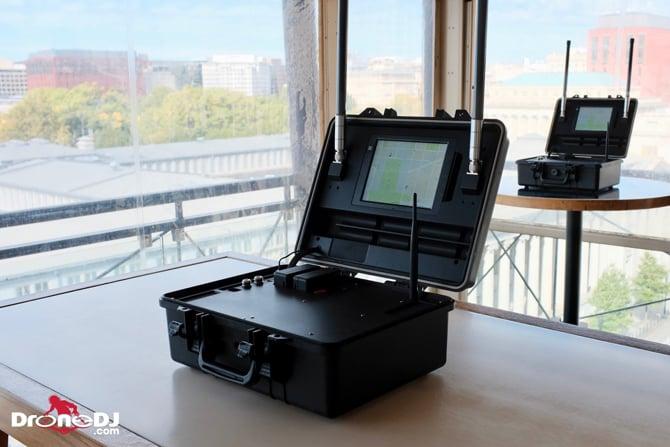 Sistema de detecção de drones DJI AeroScope foi aprovado no Reino Unido
