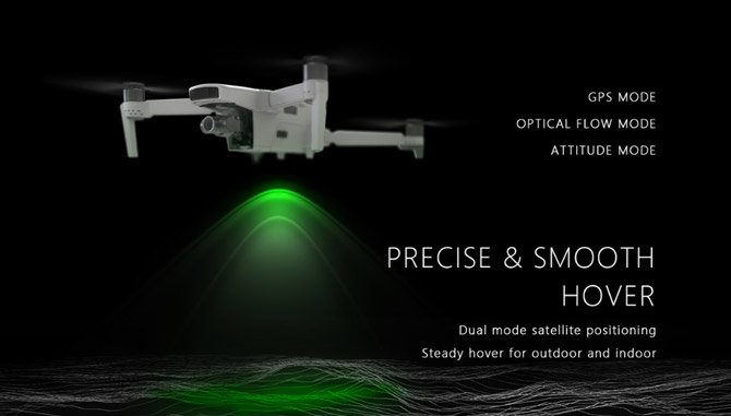 Drone Ubsan Zino 2 records at 4K60fps, has 3-axis gimbal and flies for 33 minutes ...