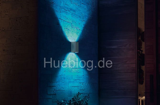 Philips would be working on new models of Hue outdoor lamps
