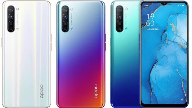 Oppo lança os smartphone Reno3 e Reno3 Pro na China