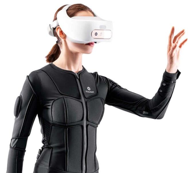 Teslasuit Glove permite que os usuários sintam texturas virtuais