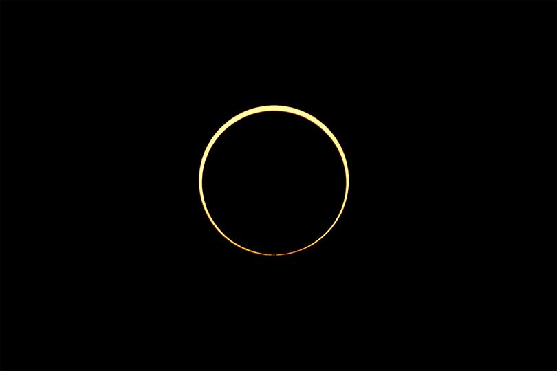 See incredible images and videos of the Solar Ring of Fire eclipse
