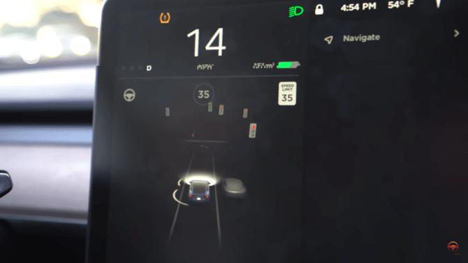 Sistema de controle da Tesla Motors