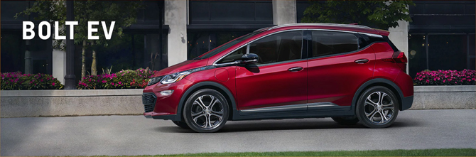 Chevrolet importará novo lote do carro elétrico Bolt EV