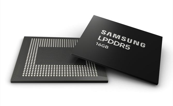 Samsung começa produção em massa de memórias LPDDR5 para celulares de alto desempenho