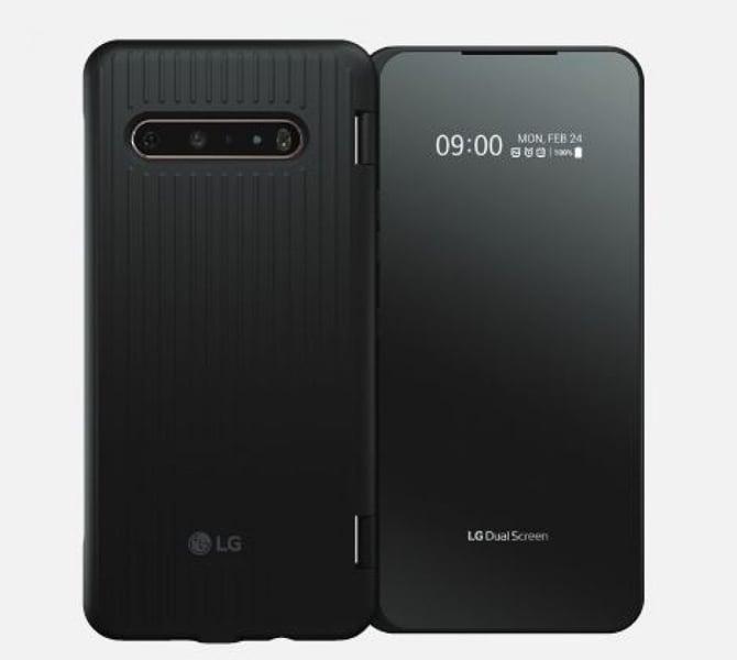 LG V60 ThinQ 5G é lançado com Snapdragon 865, novo sistema de duas telas e bateria de 5.000mAh